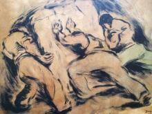 Diego Rivera Original from 1941  51x43 cm