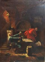 Edward Von Grutzner  Original Oil on canvas  100x74 cm