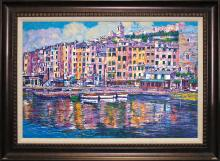 Anton Sipos Limited Edition Serigraph Harbor