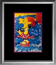 Tom Everhart Original Lithograph Limited Edition 1800 My Hair is Pulled Too Tight