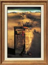 Salvador Dali Limited Edition Lithograph on canvas