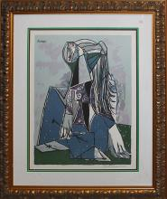 The Thinker Limited Edition Lithograph after Pablo Picasso