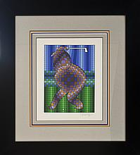 Victor Vasarely Limited Edition Serigraphs Golf