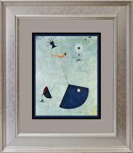 Joan Miro Color Plate Lithograph 1979