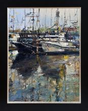 Jorn Fox original oil on canvas