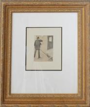 Edgar Degas Etching