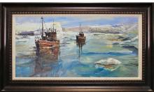 Original Oil by Jorn Fox