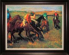 Edgar Degas Avant La Course