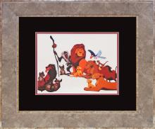 Walt Disney Lion King Sericel
