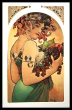 After Alphonse Mucha-Limited Edition Giclee