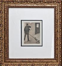 Edgar Degas Original Etching