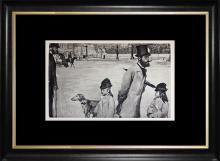 Edgar Degas 1923 Engraving Limited