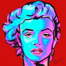 Marilyn Monroe on canvas limited edition by Zinovy