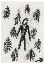 TONY JUST, Men in woods, this way