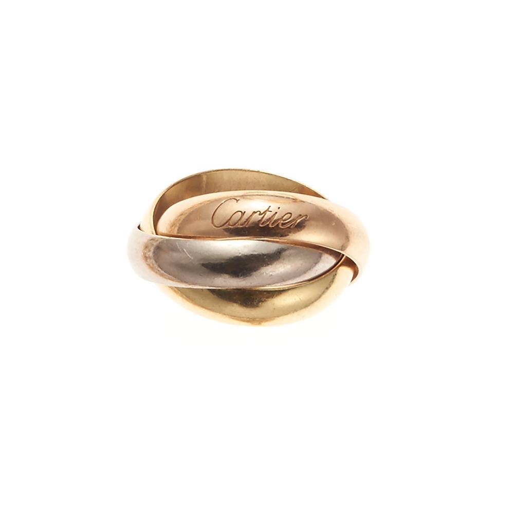 9d0093d13f Gold Trinity ring, Cartier