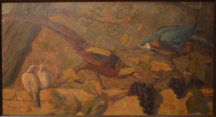 Nicolas AGAPOFF (1899-?) Russian - Yugoslavian - French