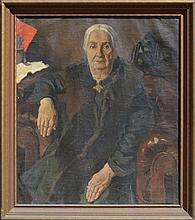 W. MASJUTIN (1884-1955) Russian - Latvian - Germany
