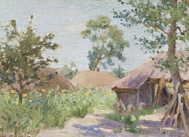 Mykola BURACHEK (1871-1942) Ukrainian - Polish - French