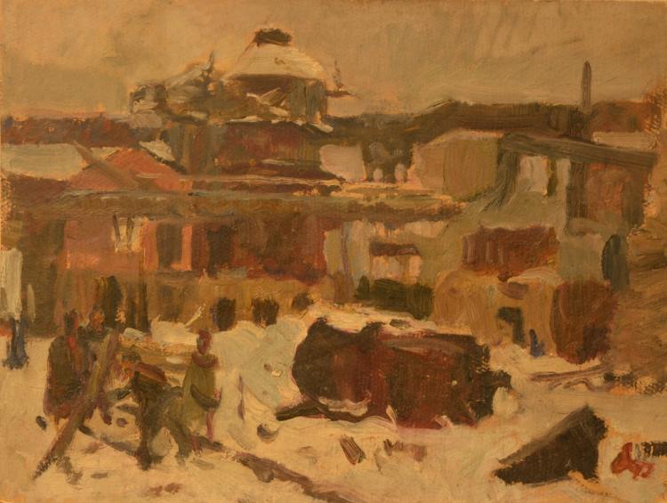 Leonid TCHERNOV (1915-1992) Russian - Ukrainian