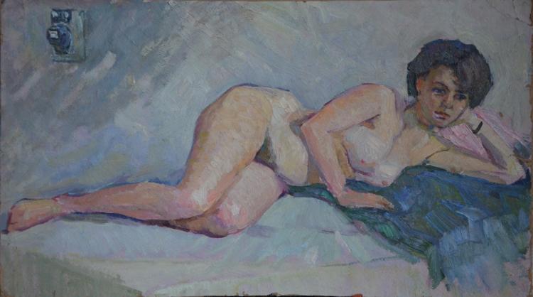 Grigoriy MARINICHENKO ( 1928 - Ukraine ) Nude Woman