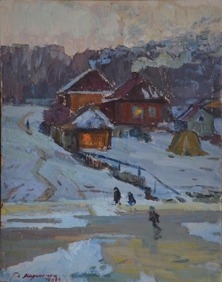 Grigoriy MARINICHENKO (1928 - 2009) Ukraine