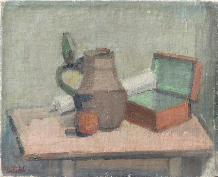 O. LUBITCH (1896-1990) Russian / Belorussian / French