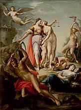 THOMAS BLANCHET Parigi 1614 - Lione 1689 Alleanza di giustizia