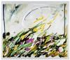 MARIO SCHIFANO Collina Inesistente 1984 smalti su tela cm 60 x 70, Mario Schifano, €2,900