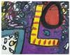 ALAN DAVIE Ell's Image 1960 Olio su carta su tela cm 42,5 x 54, Alan Davie, €10,000