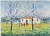 MICHELE CASCELLA House with peaches, Michele Cascella, €1,900