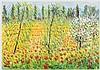 MICHELE CASCELLA Landscape with poppies Oil on canvas, Michele Cascella, €1,500