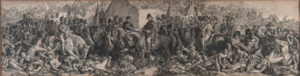 """LUMB STOCKS """"Wellington and Blucher meeting after the Battle of Watterloo."""" LUMB STOCKS """"Wellington and Bluch"""