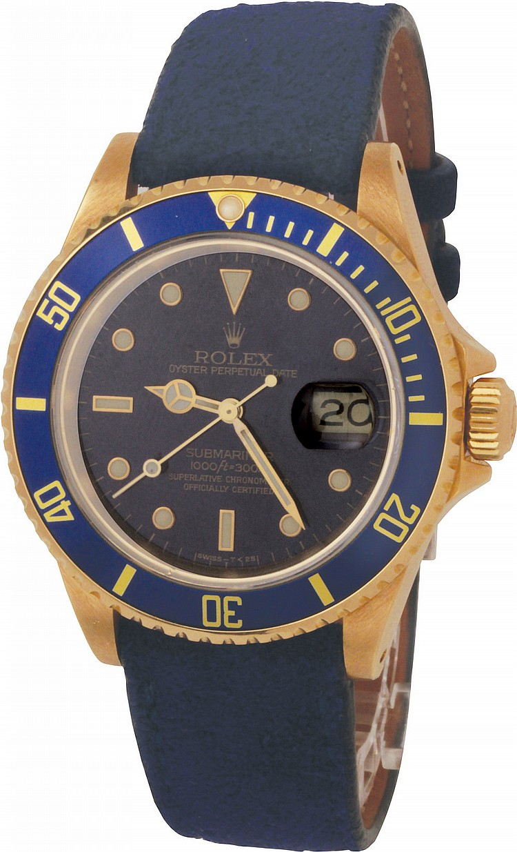 Rolex Oyster Perpetual Date Submariner ref. 16618, 1989