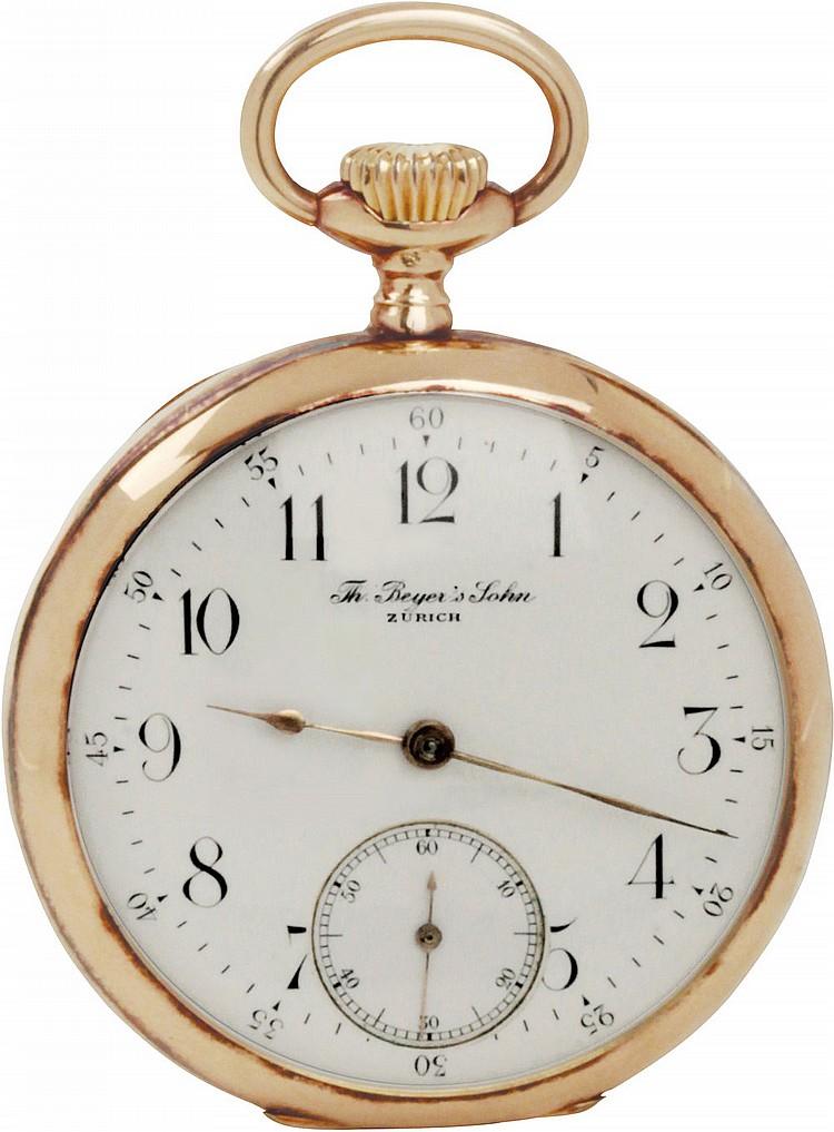 Pocket Watch Th. Beyer's Jhon Zurich XIX-XX century