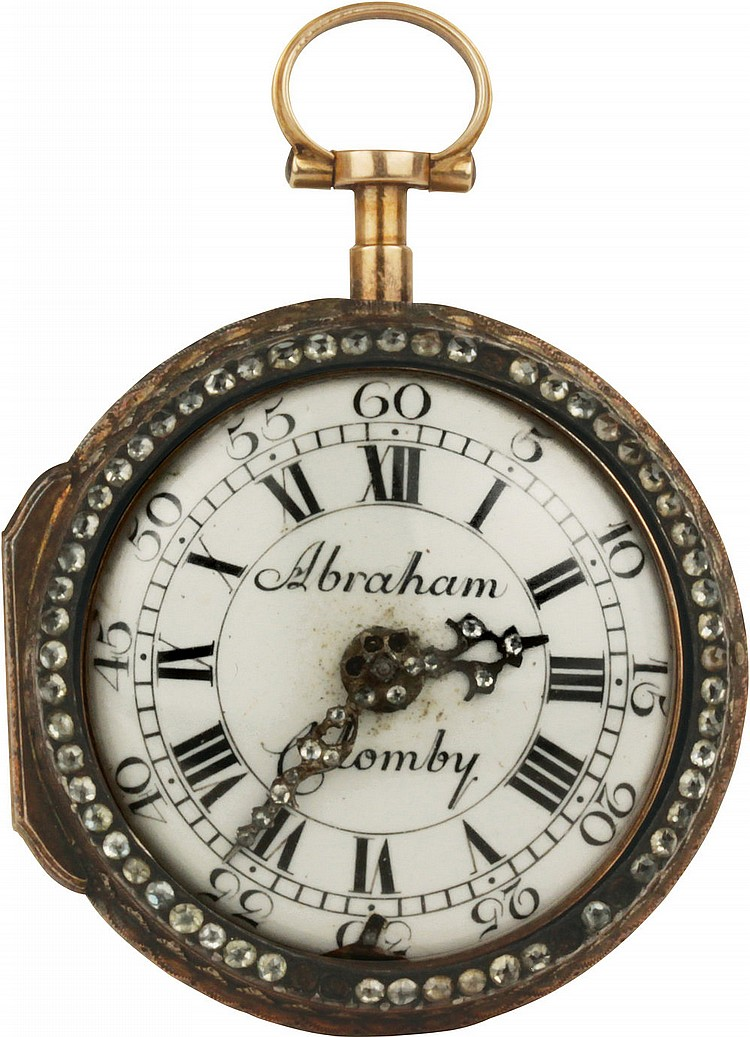 Packet Watch  Abraham Colomby 1790 circa