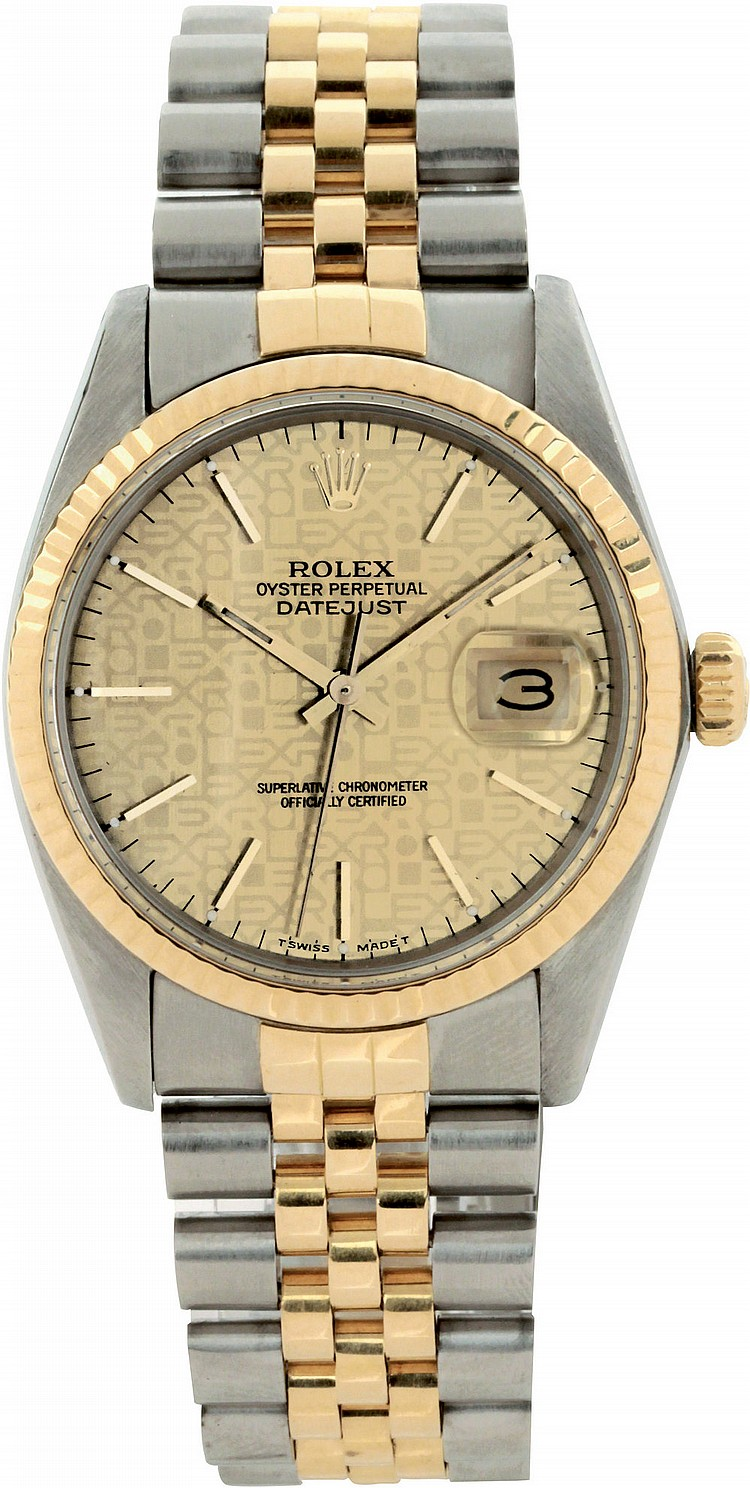 Rolex Oyster Perpetual Datejust ref. 16013, 1984