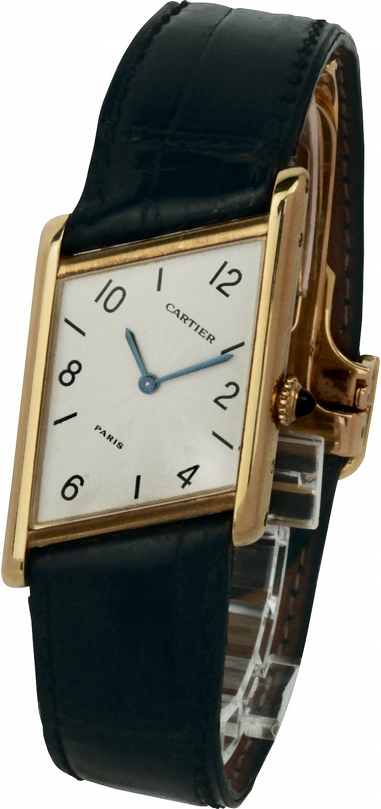 Cartier Paris Tank Asymetrique Limited Edition Deployante 1996, limited edition n. 149 of 300 watches