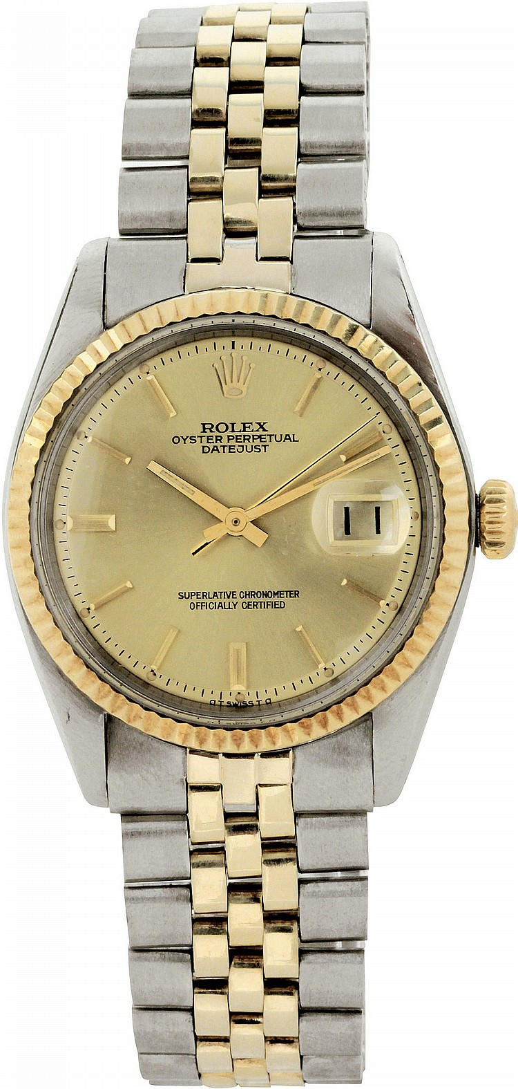 Rolex Oyster Perpetual Datejust ref. 1601, 1975