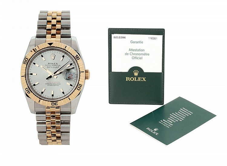 Rolex Oyster Perpetual Datejust Turn-o-graph ref. 1161261, 2005