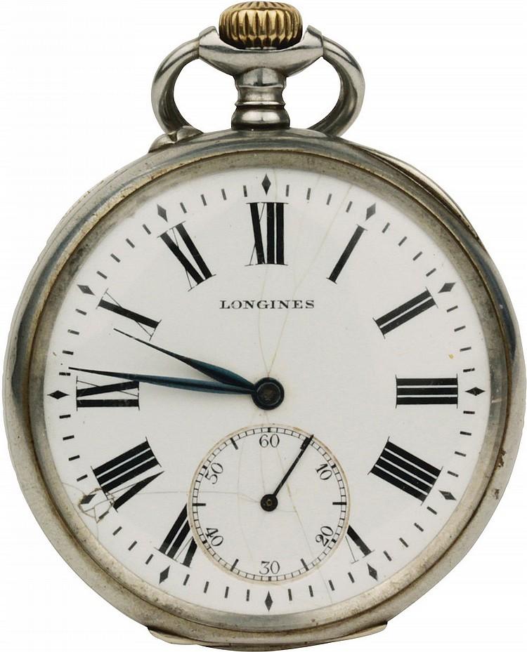 Pocket Watch Longines Ferrovie dello Stato beginning XX century