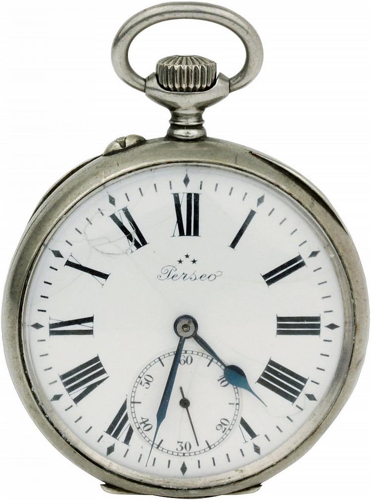 Pocket Watch Perseo Ferrovie dello Stato beginning XX century