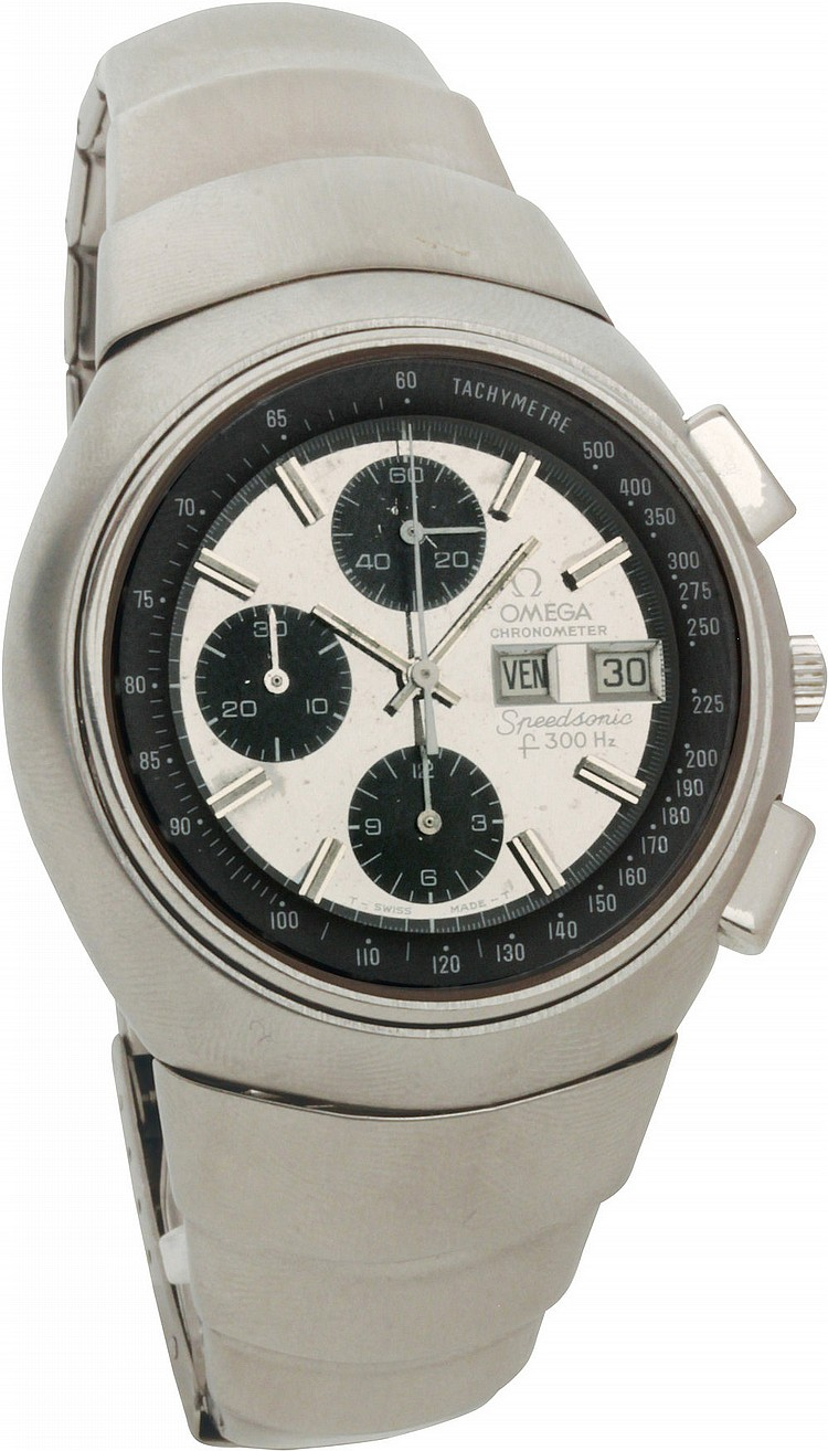 Omega Chronometer Speedsonic  ref. 188.001 / 388.0600,  circa 1970
