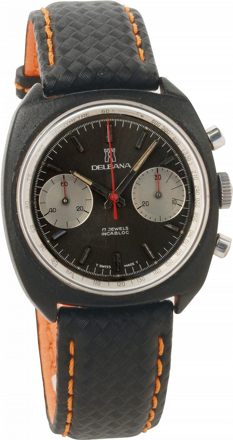 Cronografo Delbana  ref. 88506,  '70s