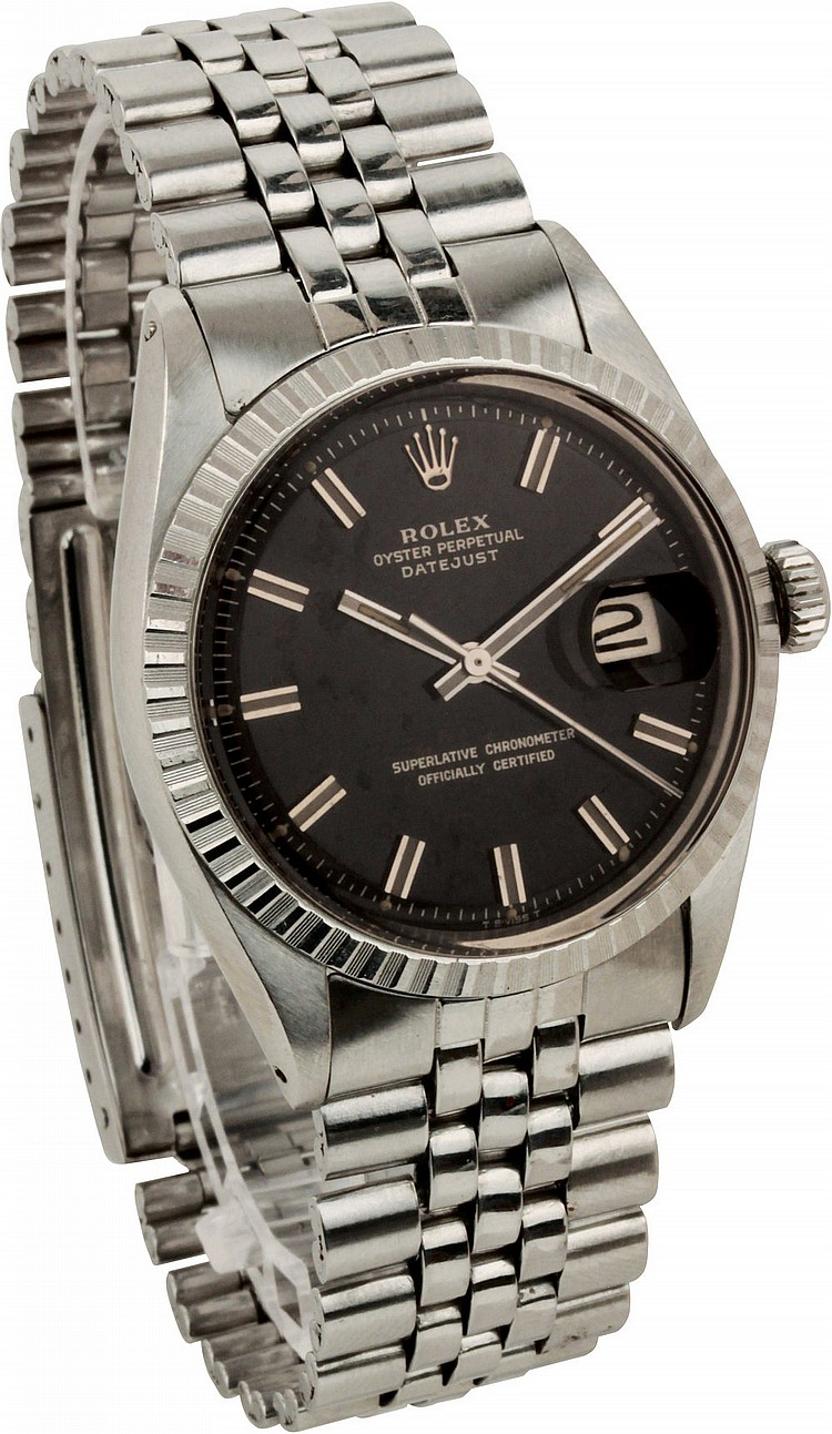 Rolex Oyster Perpetual Datejust  ref. 1603/08, 1973