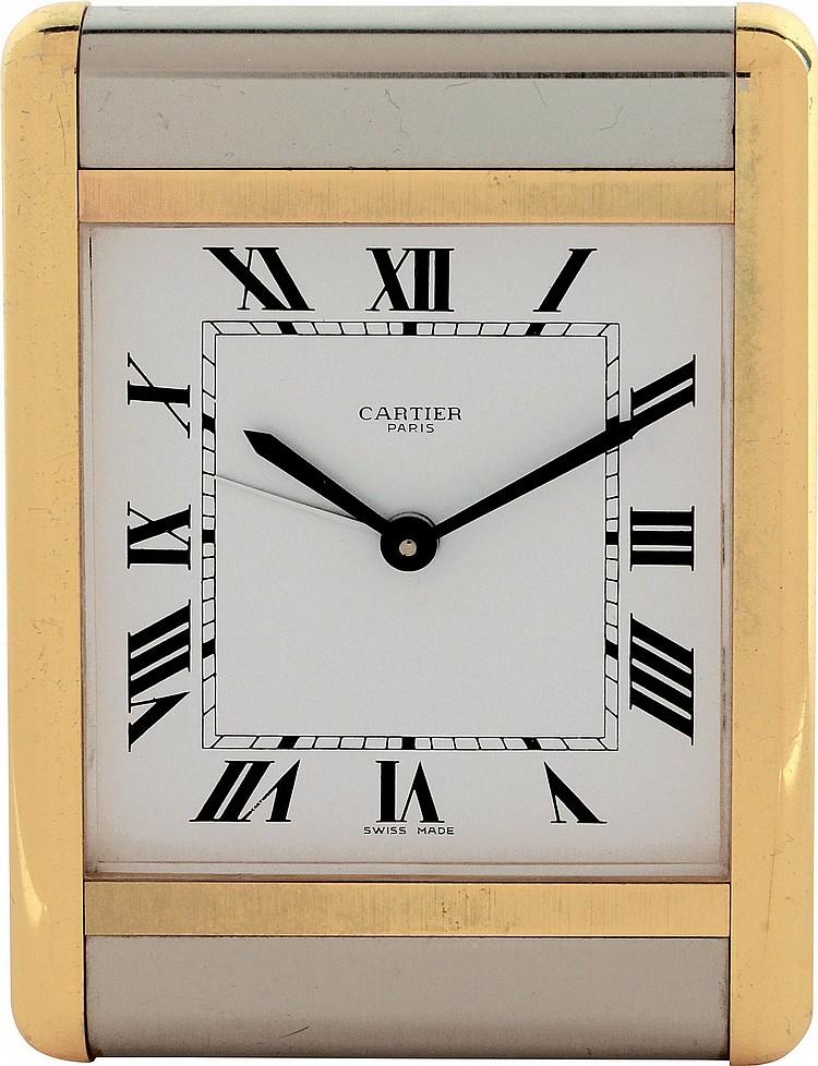 Cartier Alarm Clock  ref. 7505,  '80s-'90s
