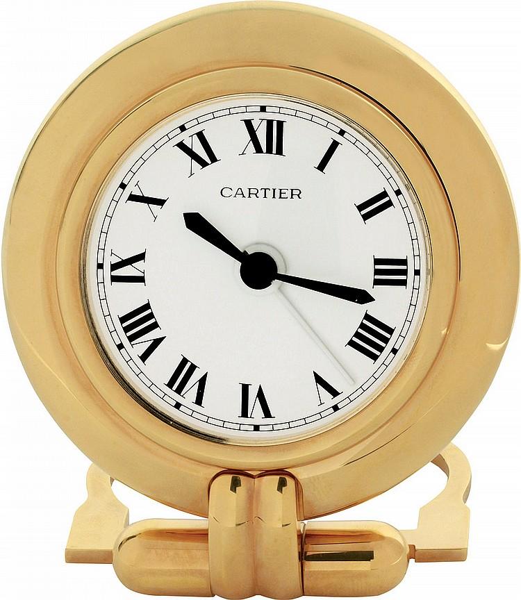 Cartier Alarm Clock  ref. 545638,  '80s-'90s