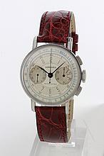 Longines, cronografo carica manuale, anni '40, 36 mm.