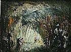 James Wigley Burning Cane, c.1958 oil on