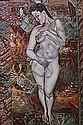 Annette Bezor Standing Nude, 1986 oil on canvas 92, Annette Thea Bezor, Click for value
