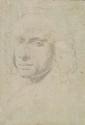 Lorenzo TIEPOLO, attribué à - Feuille d'étude recto verso